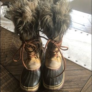 Sorel Joan of Artic Boots Oatmeal size 8